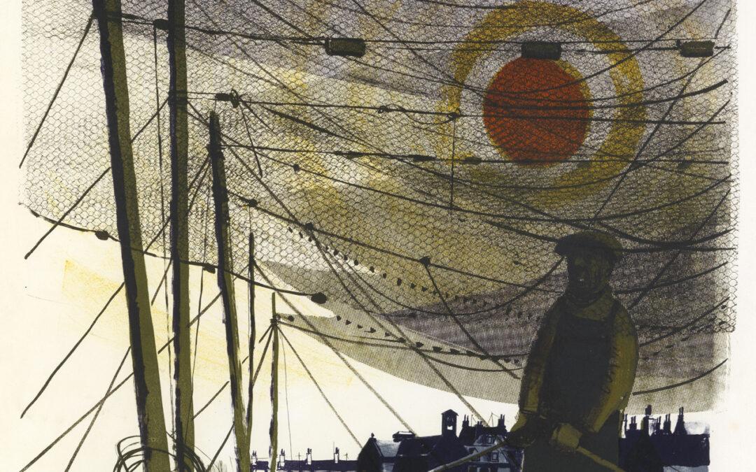 Work of the Week 21: Salmon Nets Drying by Bernard Cheese