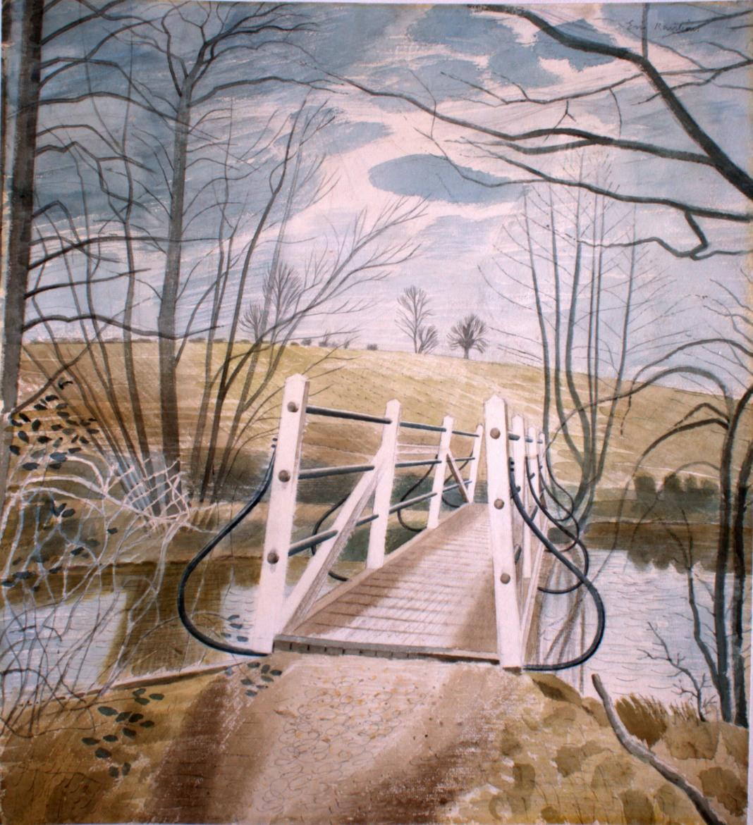 Work of the Week 22: Ironbridge at Ewenbridge by Eric Ravilious