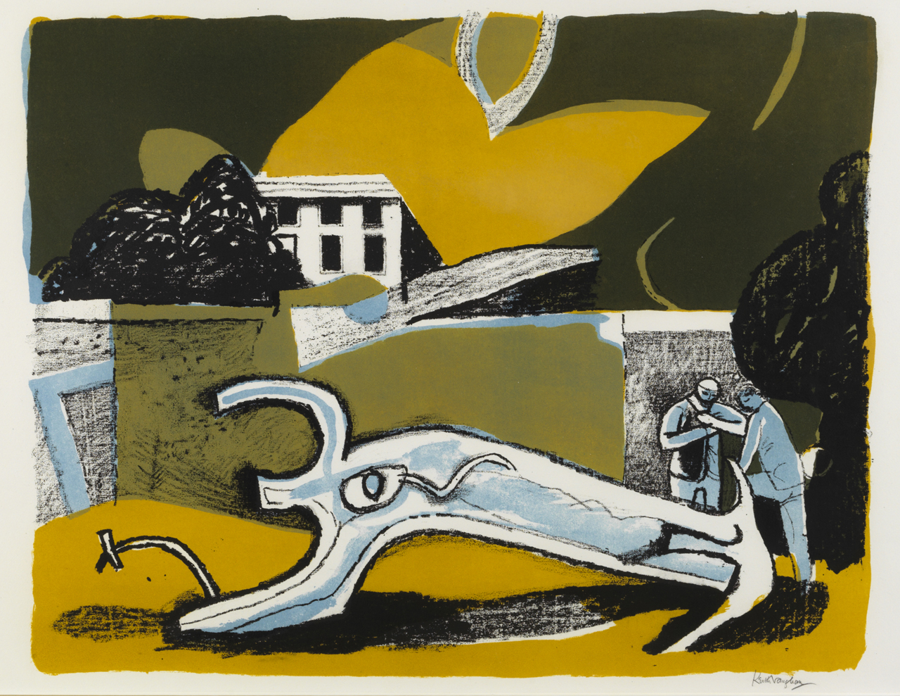 Work of the Week 29: The Walled Garden by Keith Vaughan