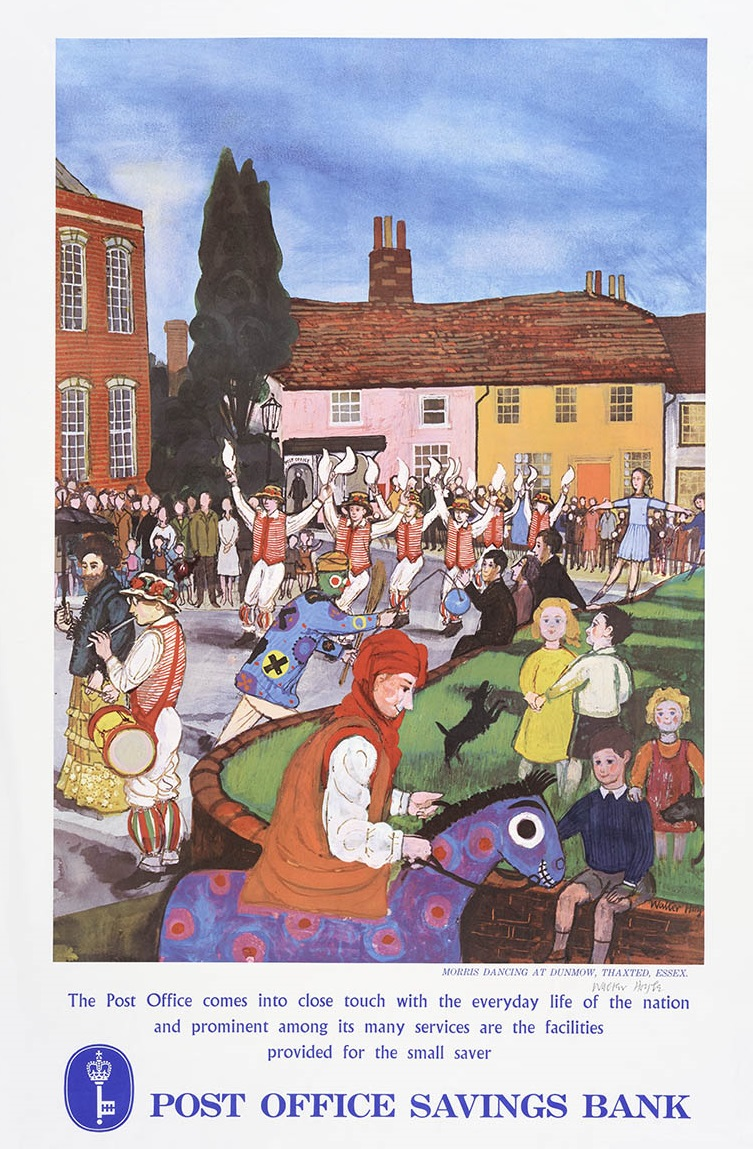 Work of the Week 28: Morris Dancing at Thaxted by Walter Hoyle
