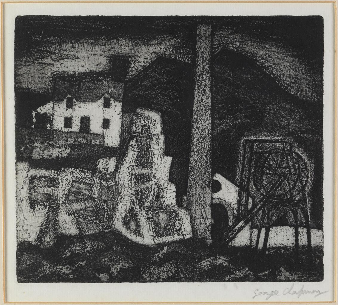 Work of the Week 37: House on Rocks by George Chapman