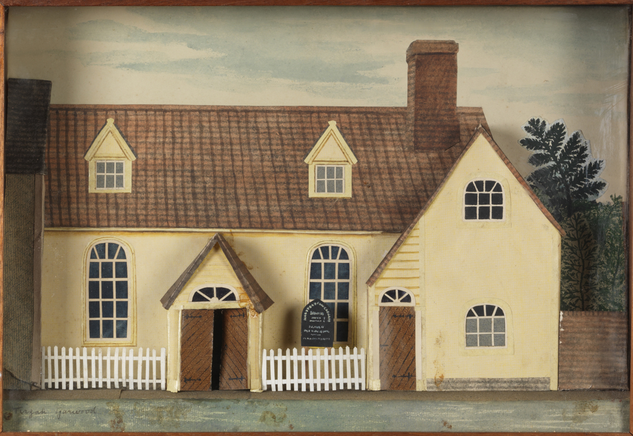 Work of the Week 35: Model of a Chapel by Tirzah Garwood