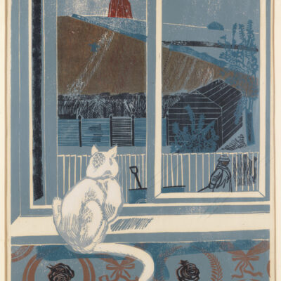 Work of the Week 38: Cat & Windmill by Sheila Robinson