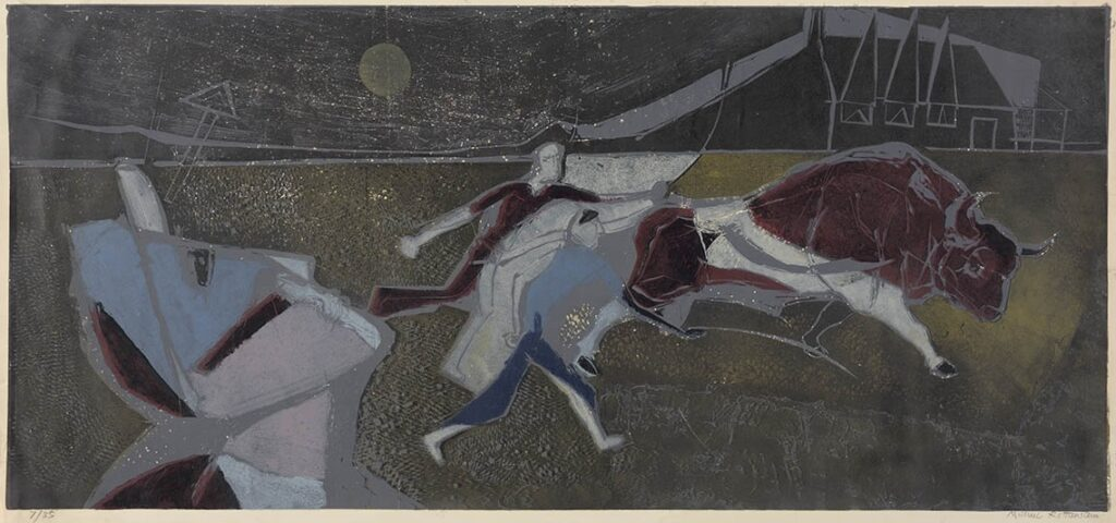 Work of the Week 41: The Bull by Michael Rothenstein